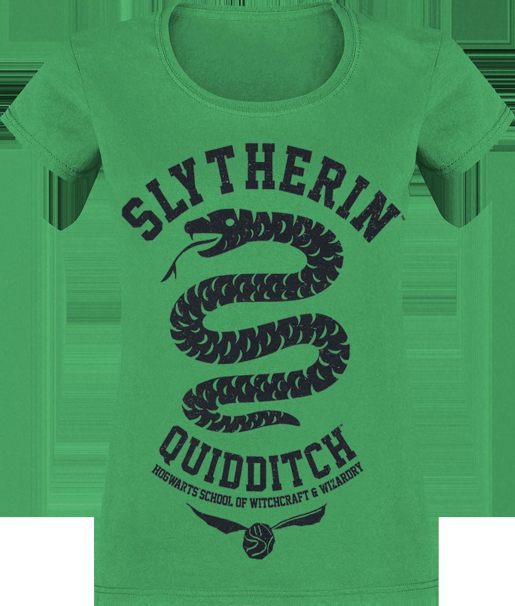 Harry Potter - Slytherin - Quidditch - T-Shirt - grün