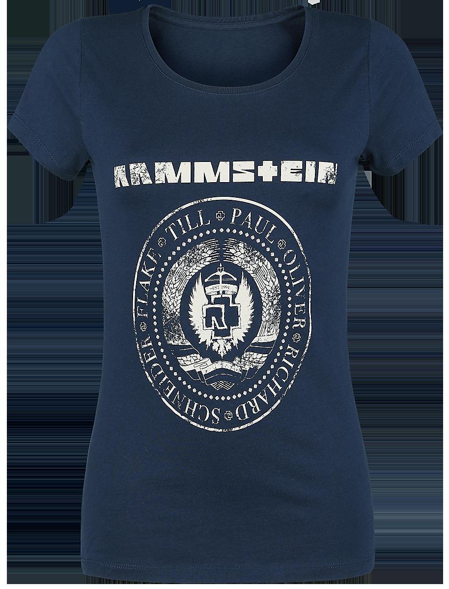 Rammstein - Est. 1994 - T-Shirt - navy