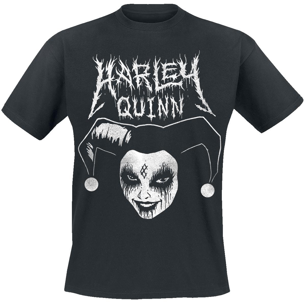 Harley Quinn - Death Metal Harley - T-Shirt - schwarz