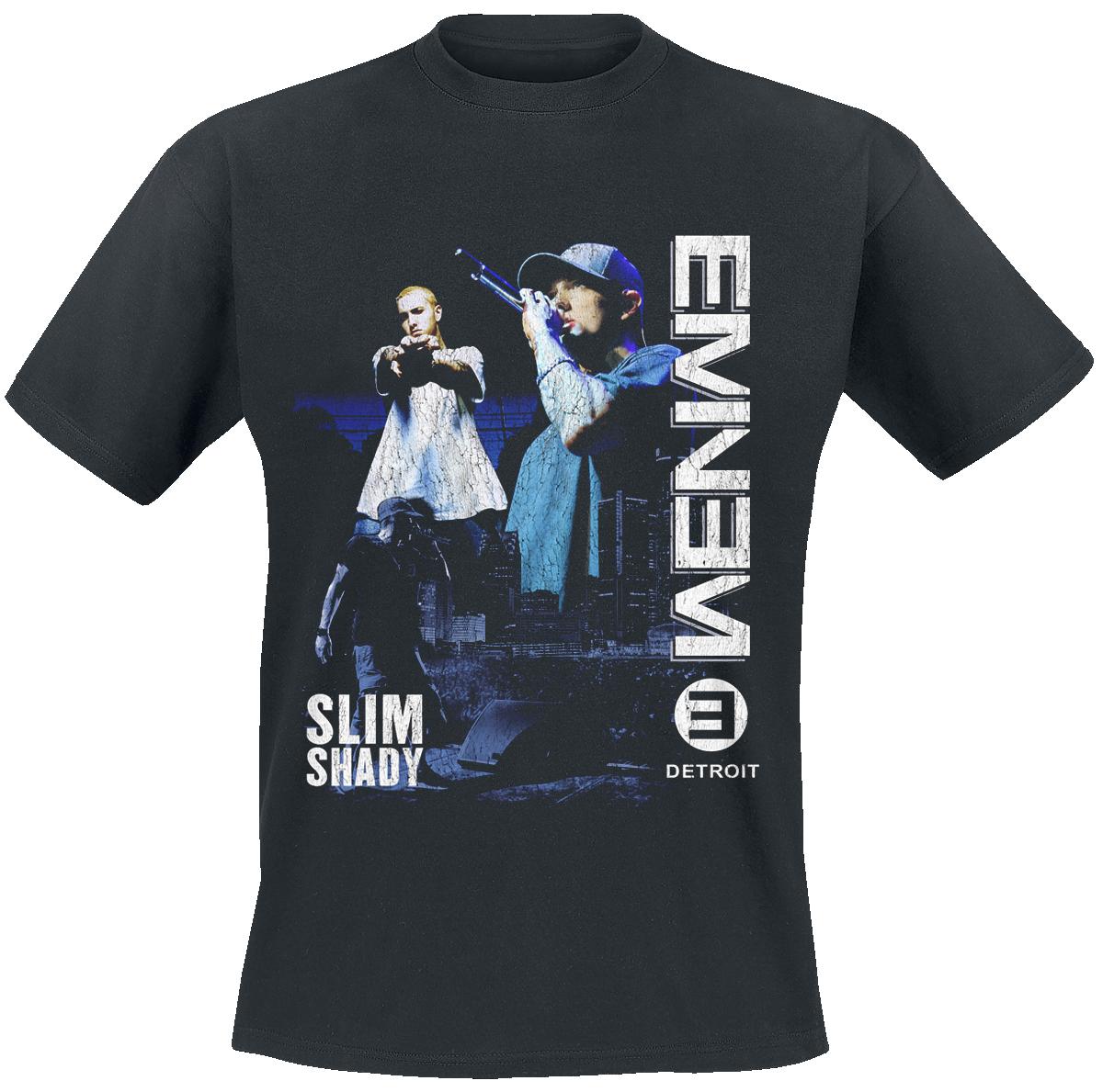 Eminem - Detroit - T-Shirt - schwarz