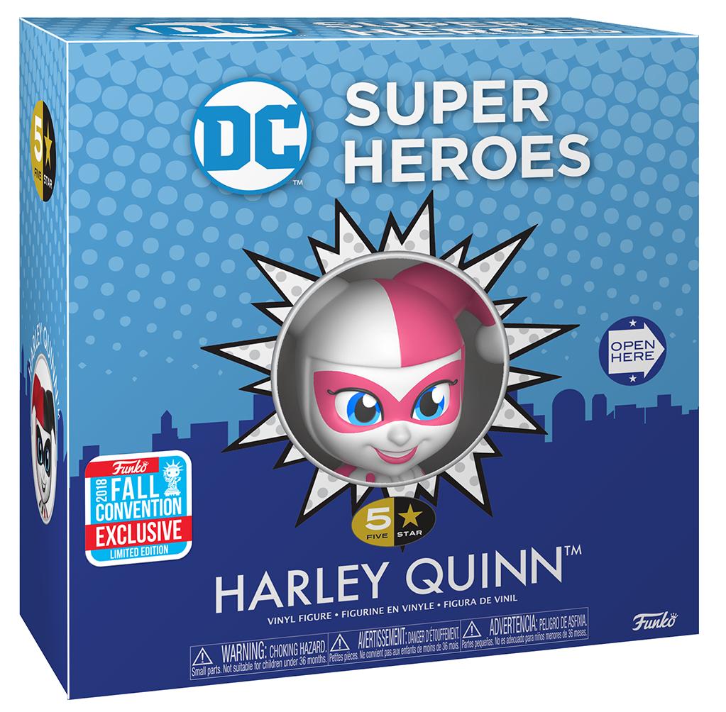 Harley Quinn - NYCC 2018 - Harley Quinn - 5 Star Vinyl Figure - Funko 5 Star - Standard