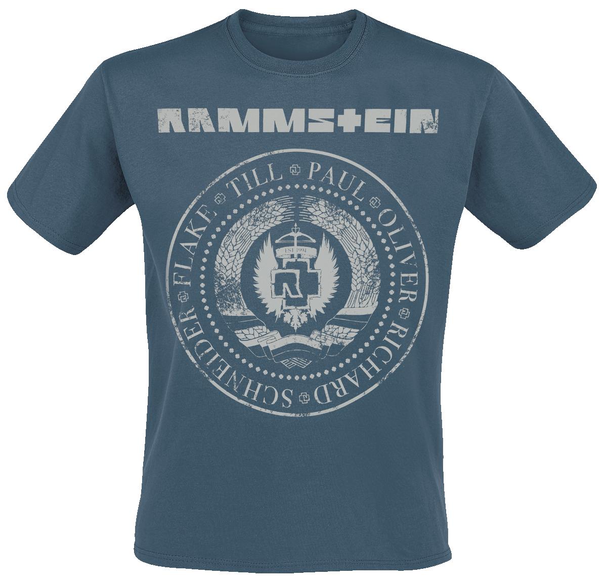 Rammstein - Est. 1994 - T-Shirt - blau