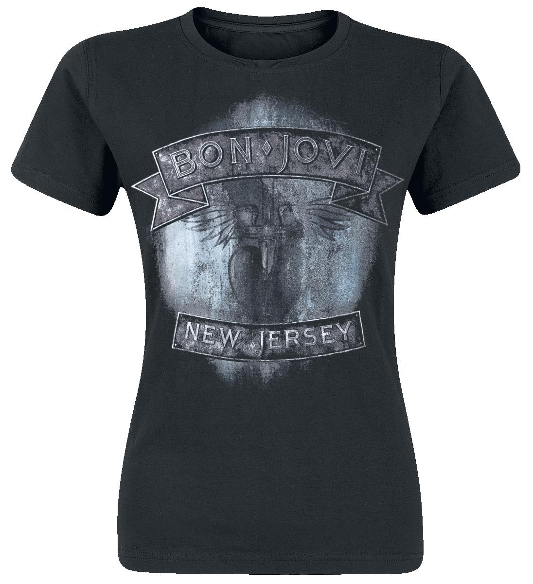Bon Jovi - New Jersey - T-Shirt - schwarz