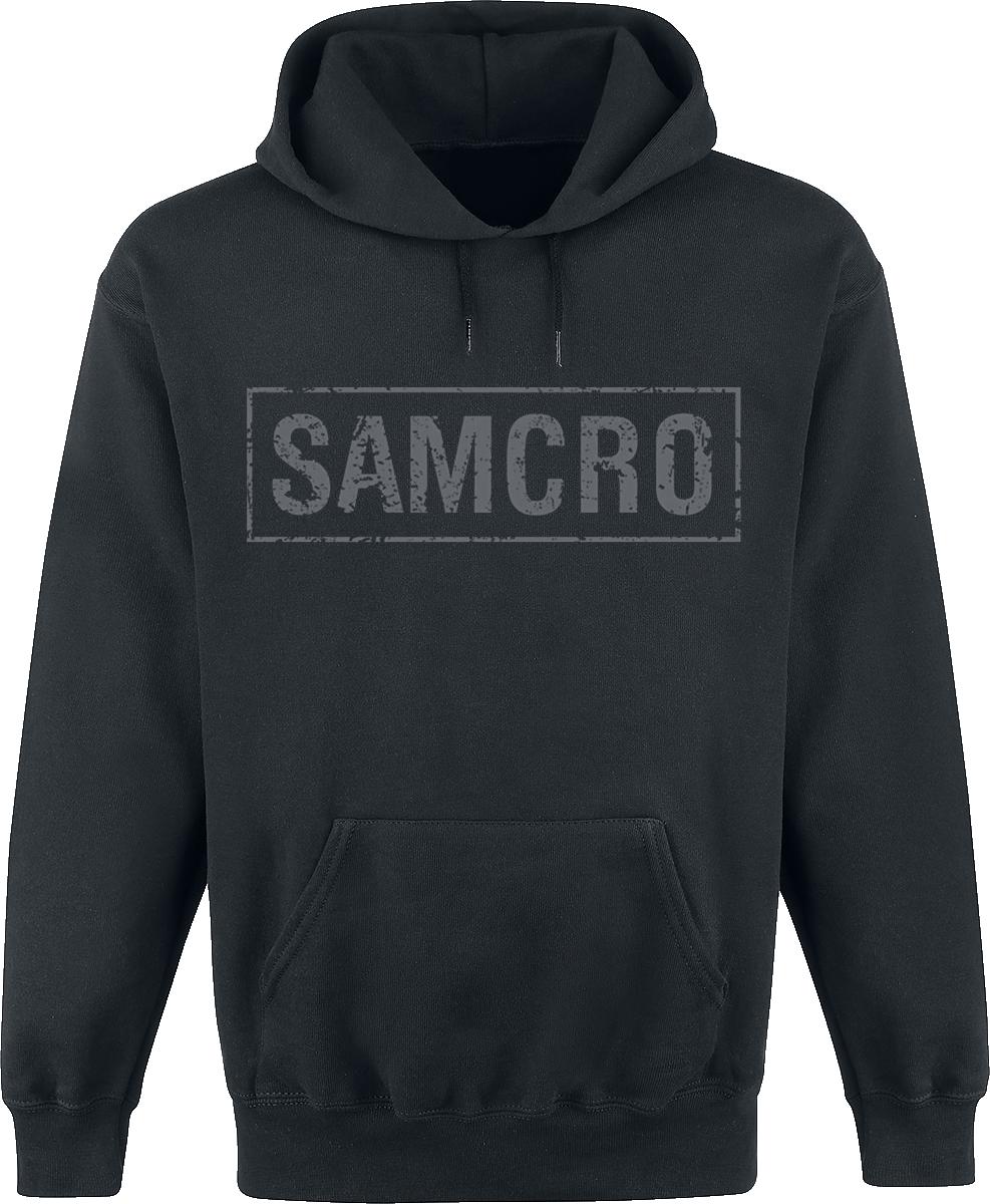 Sons Of Anarchy - Samcro - Logo - Kapuzenpullover - schwarz