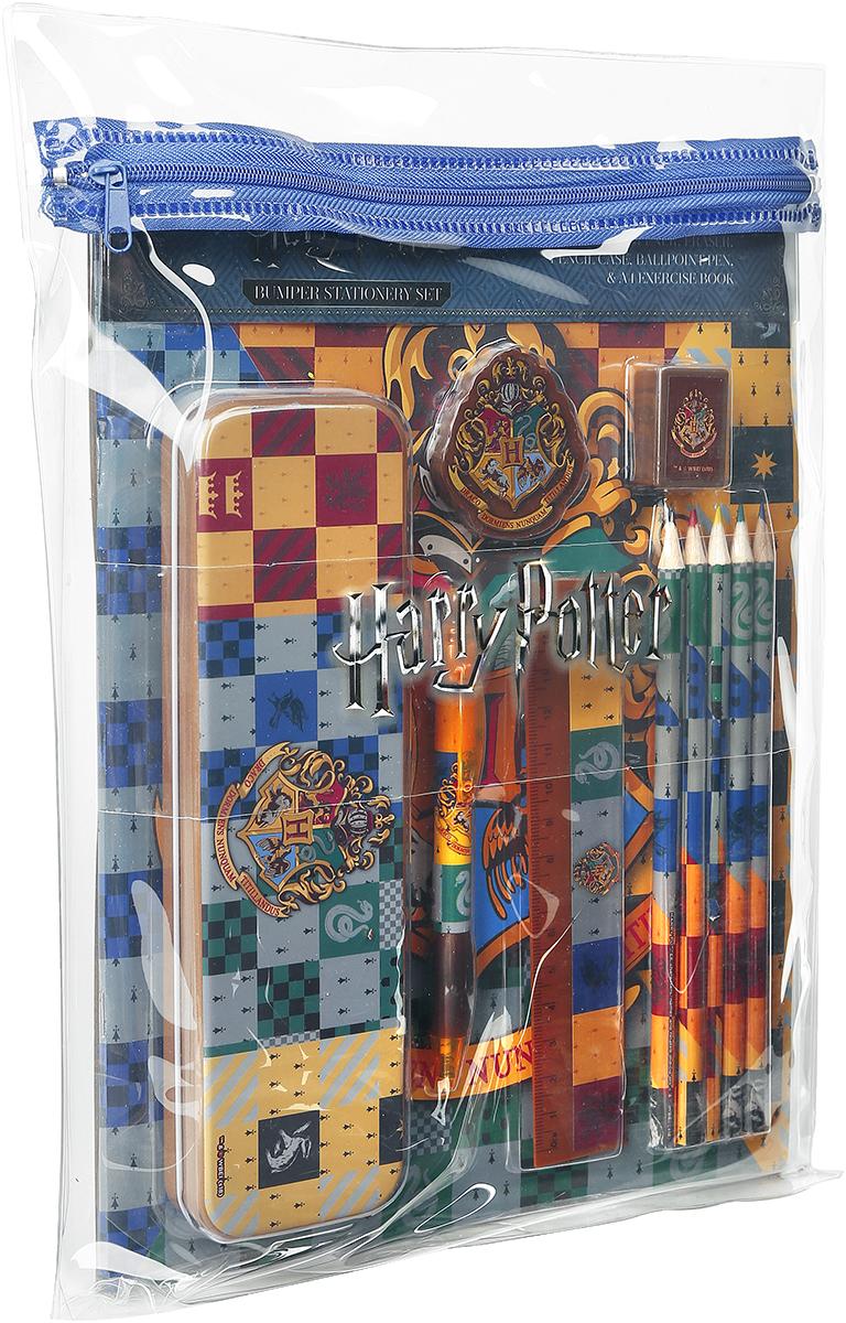 Harry Potter - House Crests - Schreibset - Schreib-Set - Mehrfarbig