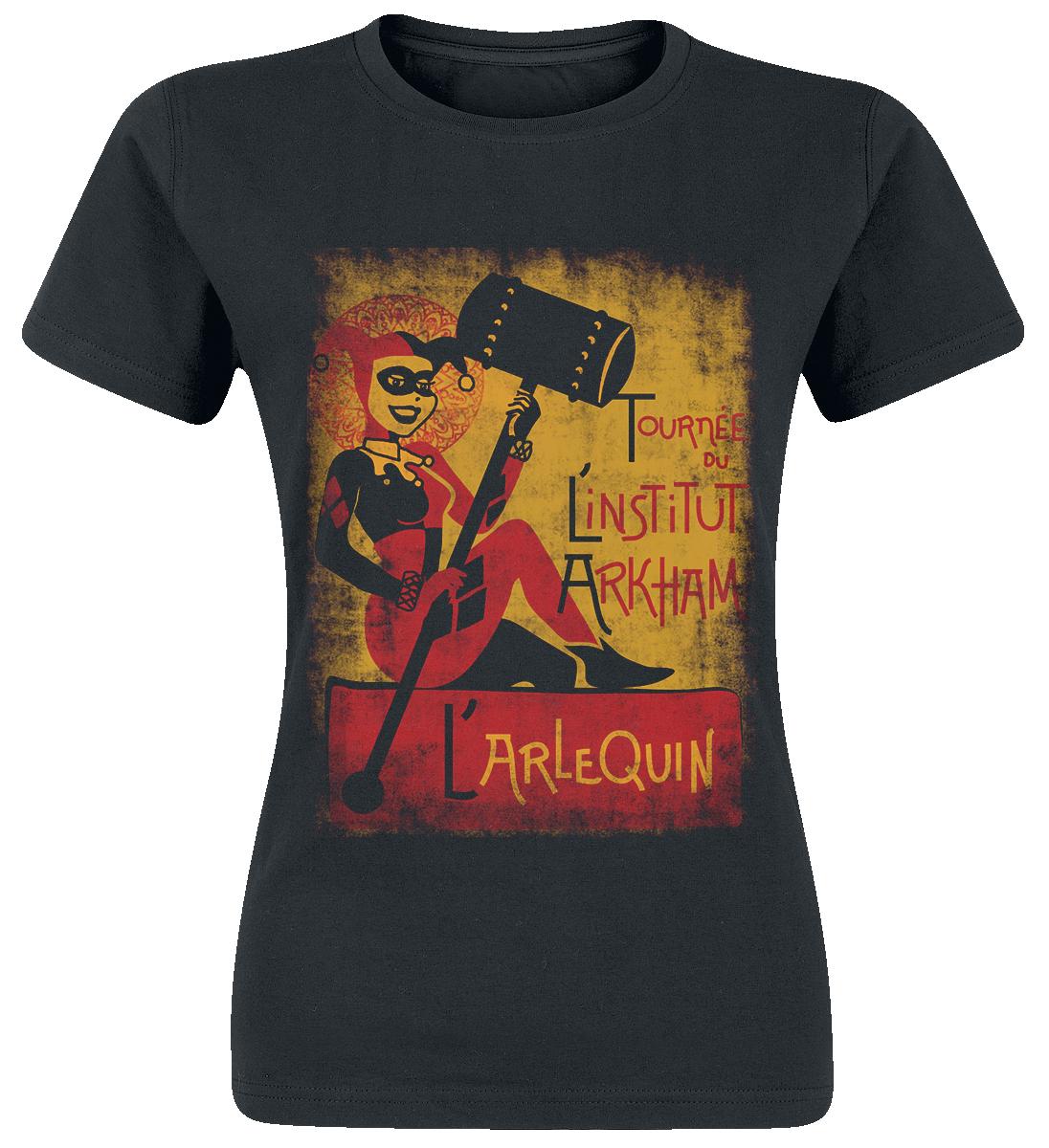 Harley Quinn - L'arlequin - T-Shirt - schwarz