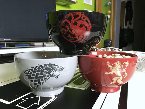 Game of Thrones Müsli- und Snack-Schüsseln