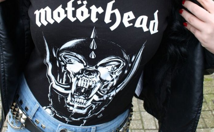 We wear Motörhead and we wear Rock 'n' Roll!