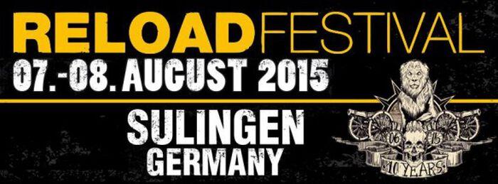 Reload Festival 2015 - Nach der Ruhe folgt der Sturm