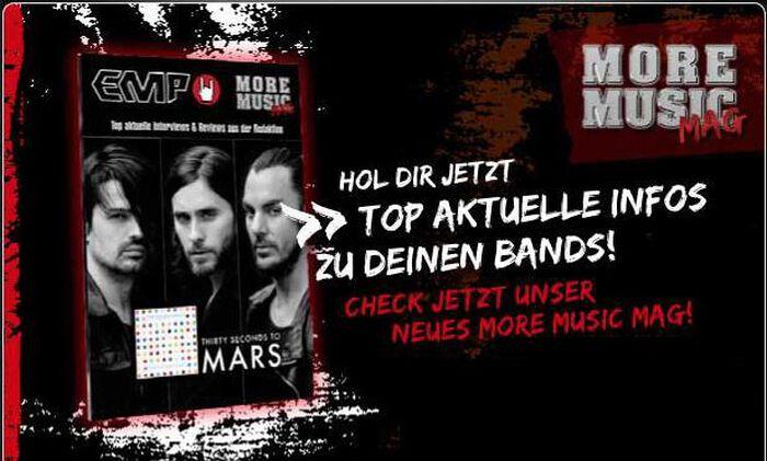 Das EMP More Music Mag für März