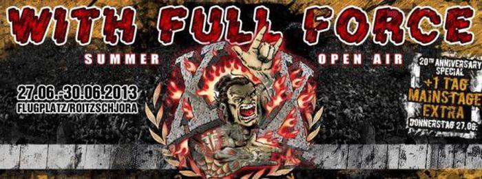 20-jähriges Jubiläum beim With Full Force 2013!