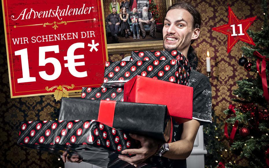 Wir schenken dir 15€!*