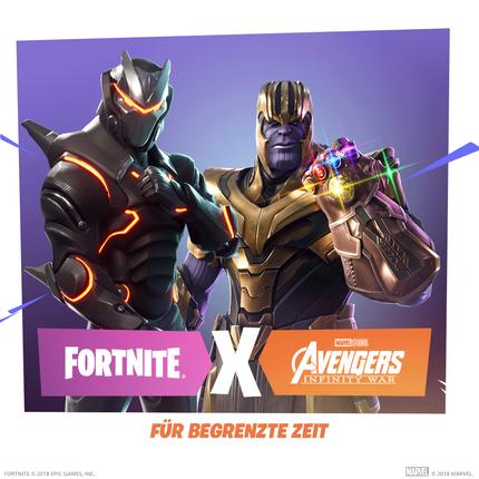 Fortnite meets Avengers – spürt die Macht der Infinity-Steine!