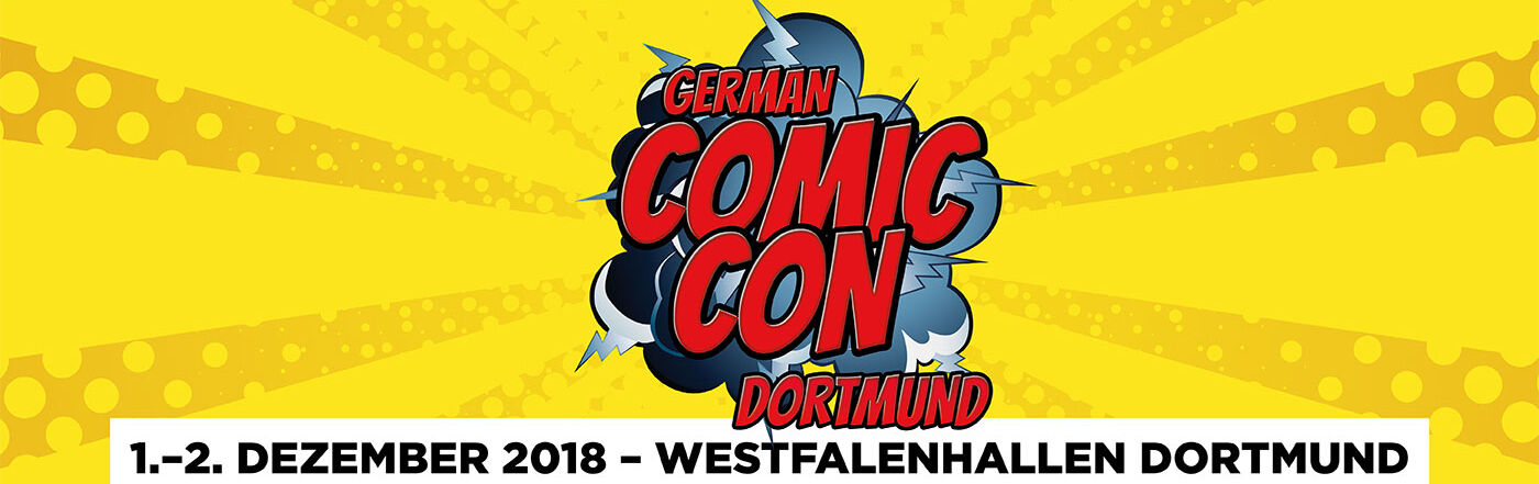 German Comic Con Dortmund 2018