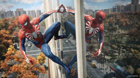 Marvel's Spider-Man: Miles Morales und Peter Parker