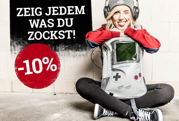 10% Rabatt auf Game Merch