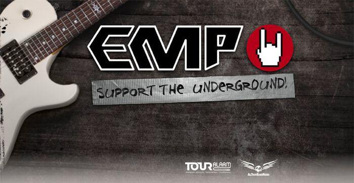EMP Support the Underground mit Breathe Atlantis, Flash Forward und Chemical Cancer