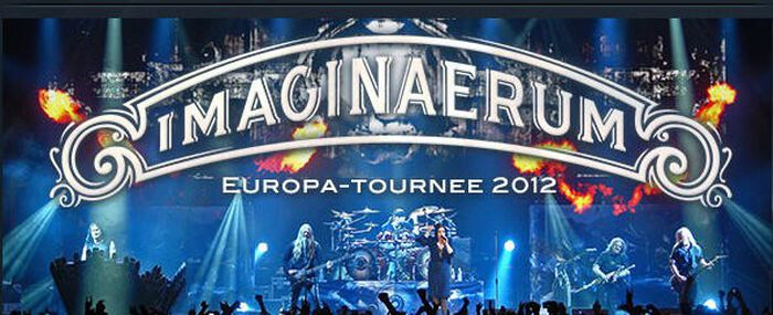 "Nightwish präsentieren ""Imaginaerum"" ab dem 11.04. live on stage"