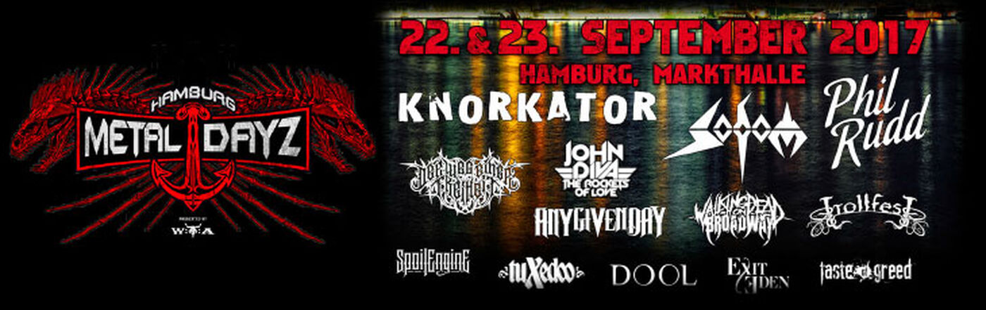 Hamburger Metal Dayz 2017!