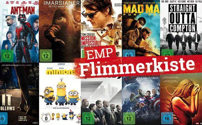 Die EMP Flimmerkiste zum 1. Januar 2016 - Special: zehn saugute Filme aus 2015!