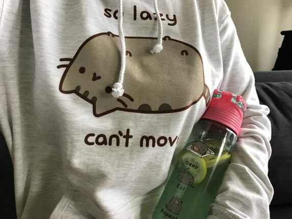 Lazy crazy Catlady - Pusheen Style