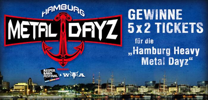 Der Metal ist durch die Hamburg Metal Dayz nun auch auf dem Reeperbahn Festival vertreten