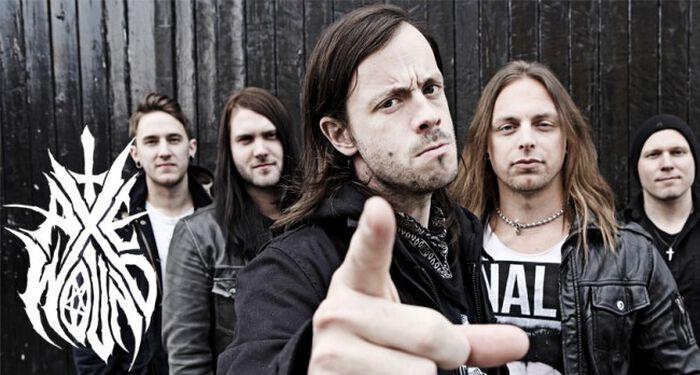 """AxeWound - die neue Band von Matt Tuck stellt ihr Album """"Vultures"""" vor."""