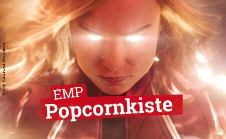 Die EMP Popcornkiste vom 7. März 2019 mit CAPTAIN MARVEL u. a.