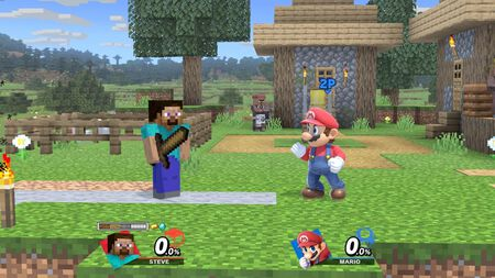 Super Smash Bros. Ultimate: Steve und Alex aus Minecraft
