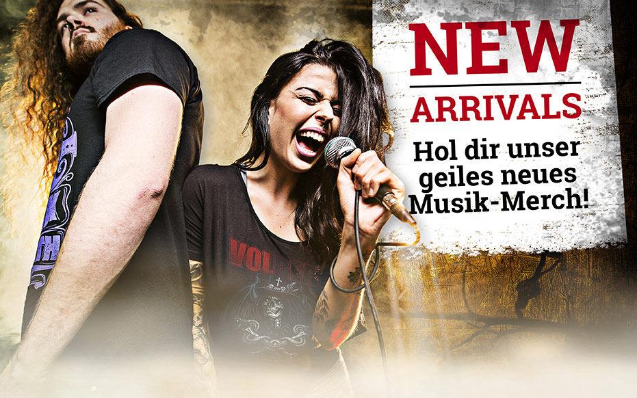 Hol Dir unser geiles neues Musik-Merch!