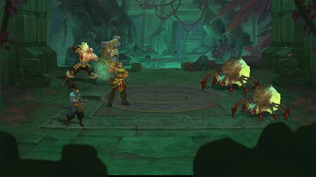 Gameplay zu Ruined King: A League of Legends Story