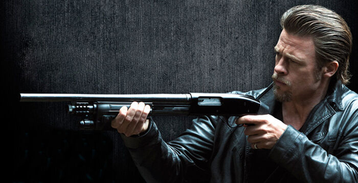 Brad Pitt likes KILLING THEM SOFTLY