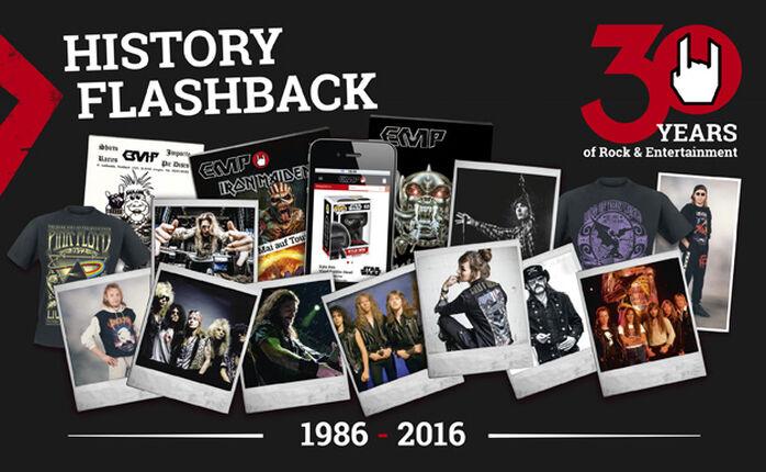 HISTORY FLASHBACK - 30 Jahre EMP: 2001-2003