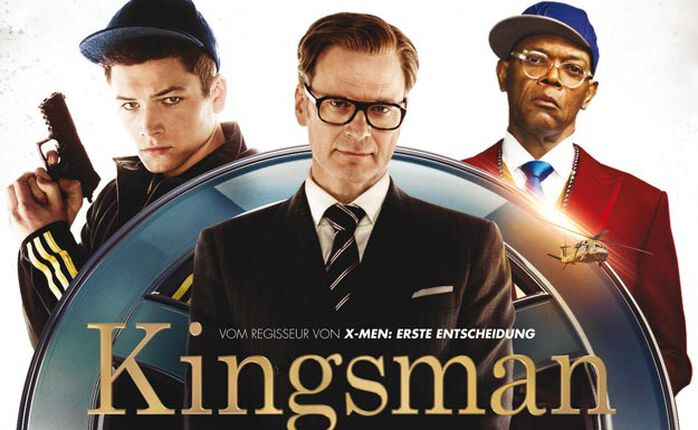 """KINGSMAN - THE SECRET SERVICE: Matthew Vaughn ist endlich wieder im """"Kick-Ass""""-Modus! Mit Verlosung!"""