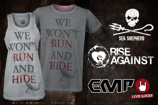 Rise Against und EMP spenden an SEA SHEPHERD