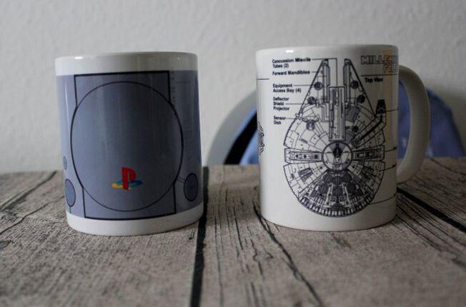 Tassenliebe mit dem Millennium Falken und der Playstation 1