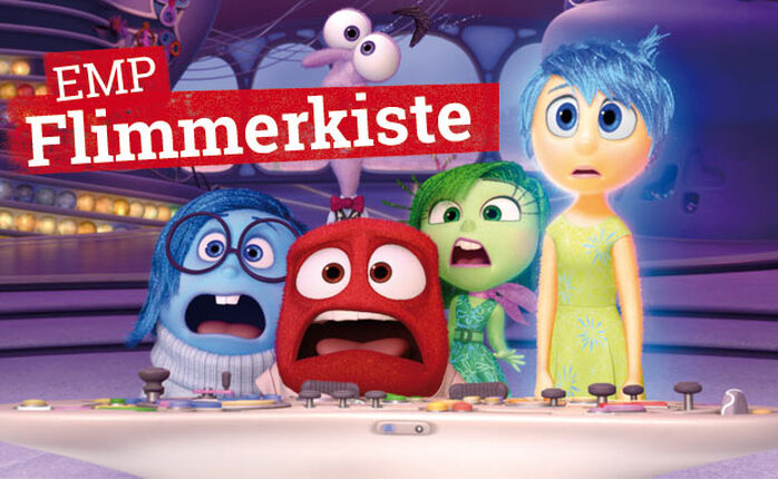 Die EMP Flimmerkiste zum 12. Februar 2016, featuring Pixars CGI-Kracher ALLES STEHT KOPF