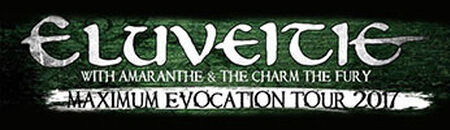 Eluveitie & Amaranthe Maximum Evocation Tour 2017