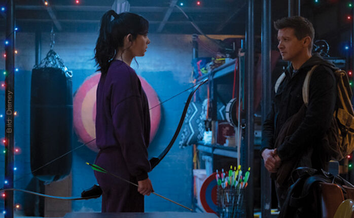 """Habicht-Auge, sei wachsam: Der Trailer zu Marvels """"Hawkeye"""" ist da!"""