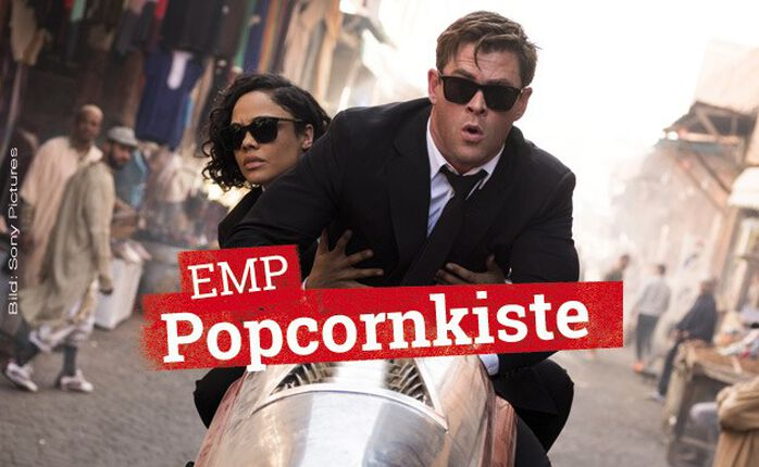 Die EMP Popcornkiste vom 13. Juni 2019: MEN IN BLACK: INTERNATIONAL und THE DEAD DON'T DIE