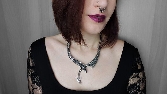 Dracarys! – die Dragons Lure Halskette von Alchemy Gothic