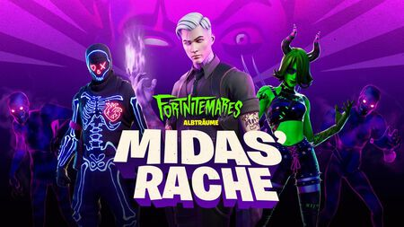Fortnite: Albträume – Midas Rache als Halloween-Event