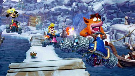 Crash Bandicoot ist wieder im Rennen!