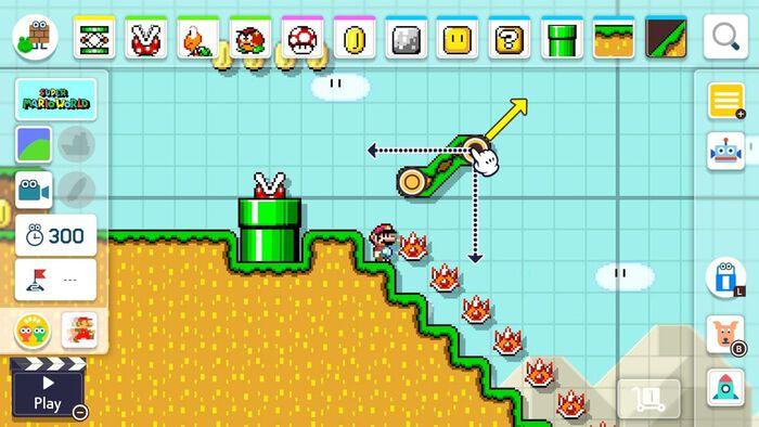 Super Mario Maker 2 – kostenloses Update