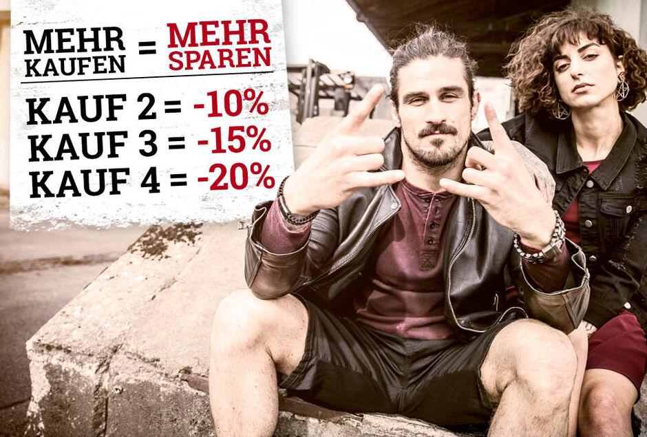 Bis zu 20% auf Fashion sparen!
