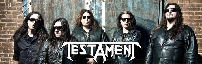 """Testament sollten mit dem neuen Album """"Dark Roots Of Earth"""" in den Zirkel der Big4 aufgenommen werden"""