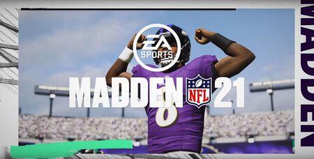 Madden NFL 21: Lamar Jackson ist Coverspieler