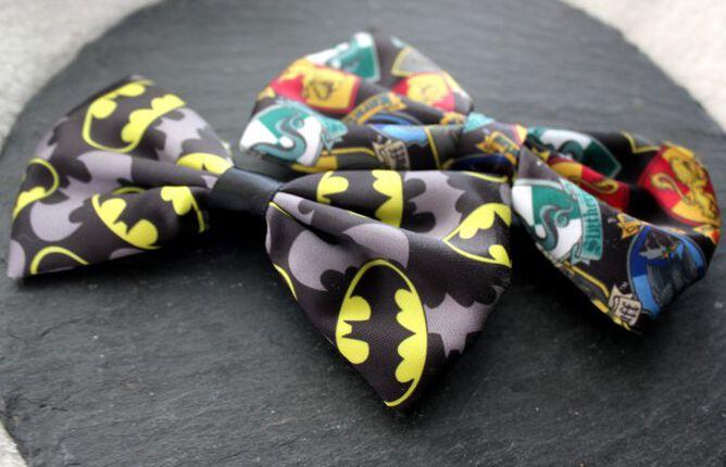 "Fandom Stuff: ""Potterhead""- und Batman-Haarschleife!"