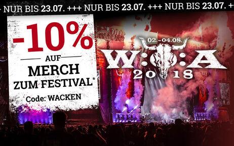-10%: Hol dir jetzt das Merch zum Festival!