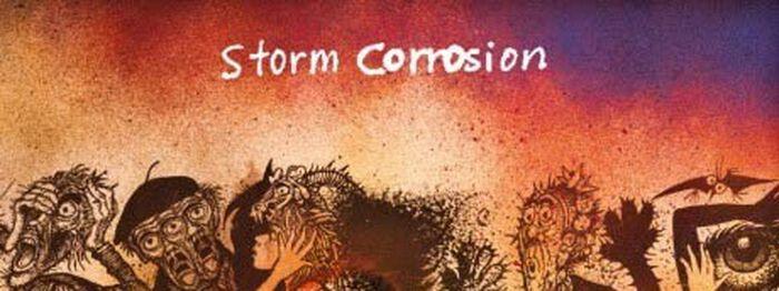 """Ein Genie trifft auf das andere bei Storm Corrosion und ihrem ersten Album """"Storm Corrosion"""""""